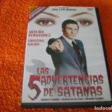 Cine: RAREZAS DEL CINE ESPAÑOL / LAS 5 ADVERTENCIAS DE SATAN / ARTURO FERNANDEZ. Lote 194740242