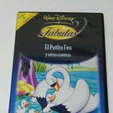 Cine: FÁBULAS EL PATITO FEO Y OTROS CUENTOS DVD DISNEY. Lote 194742637