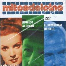 Cine: LA POSADA DE JAMAICA. REGRESO AL HOGAR. EL REPARTIDOR DE HIELO. MITOS DEL CINE. DVD PRECINTADO. Lote 194746726