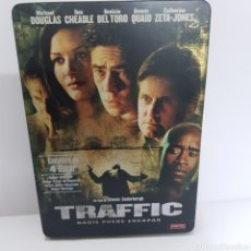 Cinéma: (ST2) TRAFFIC - DVD SEGUNDAMANO EDICION STEELBOOK. Lote 194752736