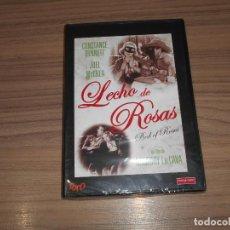 Cine: LECHO DE ROSAS DVD CONSTANCE BENNET JOEL MCCREA NUEVA PRECINTADA. Lote 288606828