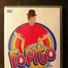 Cine: DVD FOFITO Y LOS JUEGOS DE LA CALLE. Lote 194768151