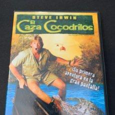 Cine: (S168) EL CAZA COCODRILOS ( DVD SEGUNDA MANO ). Lote 194769212