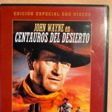 Cine: CENTAUROS DEL DESIERTO. ED. ESPECIAL (2DVD). Lote 194786321