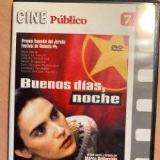 Cine: BUENOS DIAS NOCHE (DVD). Lote 194786692