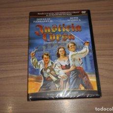 Cine: JUSTICIA CORSA DVD DOUGLAS FAIRBANKS JR. RUTH WARRICK NUEVA PRECINTADA. Lote 194859937