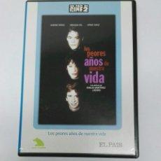 Cine: LOS PEORES AÑOS DE NUESTRA VIDA DVD. Lote 194860232