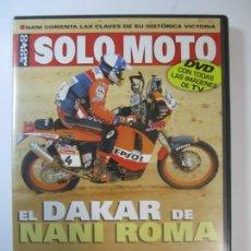 Cine: DVD EL DAKAR DE NANI ROMA SOLO MOTO REPSOL DAKAR 2004. Lote 194862865