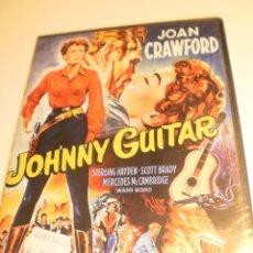Cine: DVD JOHNNY GUITAR. JOAN CRAWFORD. DE NICHOLAS RAY. 110 MIN CAJA FINA (PRECINTADA). Lote 194865766