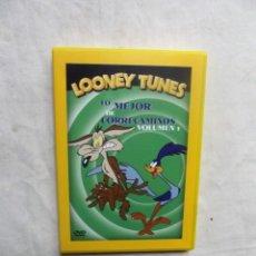 Cine: DVD - LOONEY TUNES LO MEJOR DE CORRECAMINOS VOLUMEN 1. Lote 194875692