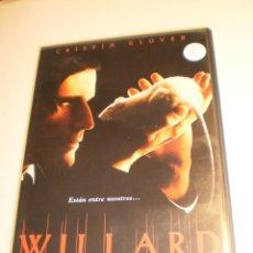 Cine: DVD WILLARD. CRISPIN GLOVER. 156 MIN (BUEN ESTADO). Lote 194883436