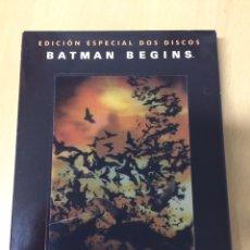 Cine: BATMAN BEGINS. CHRISTIAN BALE. MORGANA FREEMAN. MICHAEL CAINE.. Lote 194887702