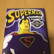 Cine: SUPERMAN VOLUMEN 2. SERIE ANIMADA. 5 EPISODIOS. Lote 194892027