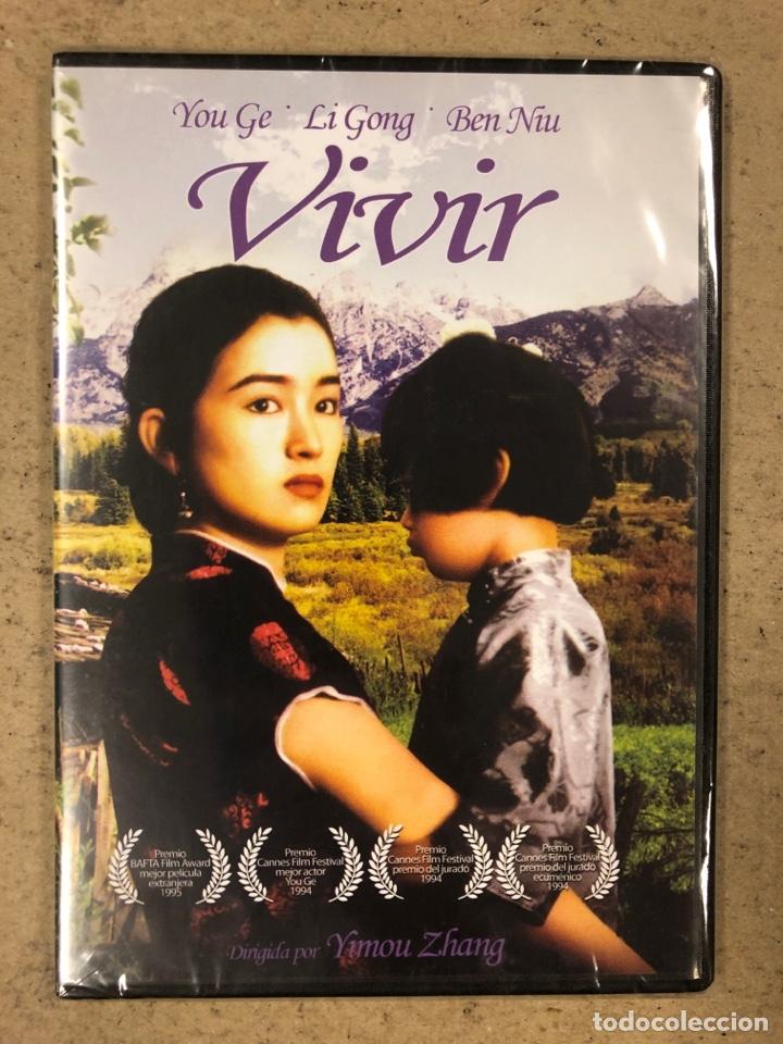 - DVD - VIVIR. YIMOU ZHANG. CON PRECINTO PLÁSTICO. (Cine - Películas - DVD)