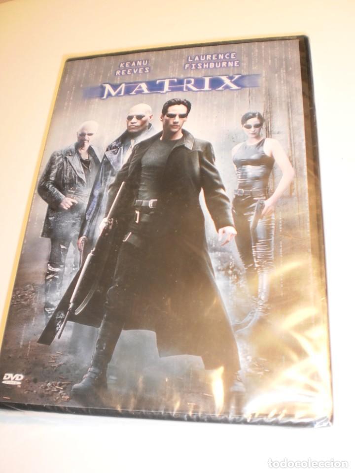 DVD MATRIX. KEANU REEVES. LAURENCE FISHBURNE 131 MIN (PRECINTADA) (Cine - Películas - DVD)