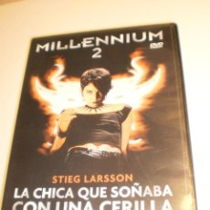 Cine: DVD MILLENNIUM 2. NOOMI RAPACE. 129 MIN (SEMINUEVA). Lote 194898921
