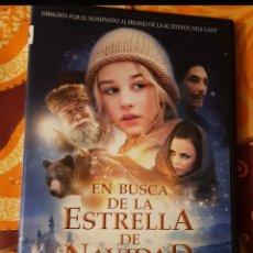 Cine: DVD EN BUSCA DE LA ESTRELLA DE NAVIDAD. Lote 194910392