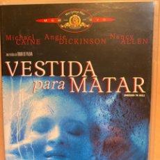 Cine: VESTIDA PARA MATAR (DVD). Lote 194939377