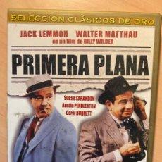 Cine: PRIMERA PLANA (DVD). Lote 194939443