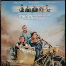 Cine: BENDITA CALAMIDAD DVD - UN SECUESTRO QUE SALE PEOR IMPOSIBLE ...PERO QUE NOS MONDA DE RISA. Lote 194939597