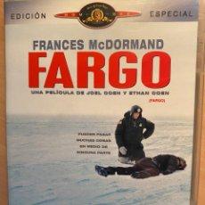 Cine: FARGO ED. ESPECIAL (DVD). Lote 194939776