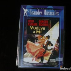 Cine: VUELVE A MI - CON FRED ASTAIRE Y GINGER ROGERS - DVD COMO NUEVO. Lote 194959931