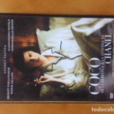 Cine: DVD COCO CHANEL - DIR. ANNE FONTAINE - CON AUDREY TAUTOU. Lote 194960243