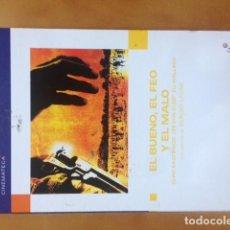 Cine: DVD CINEMATECA - EL BUENO, EL FEO Y EL MALO DE SERGIO LEONE CON CLINT EASTWOOD. Lote 194960545