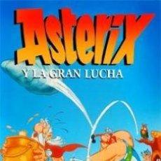 Cine: ASTERIX Y LA GRAN LUCHA DVD NUEVO DOBLADA AL ESPAÑOL. Lote 194962665