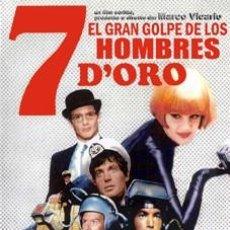 Cine: EL GRAN GOLPE DE LOS 7 HOMBRES DE ORO DVD NUEVO DOBLADA AL ESPAÑOL. Lote 194963716