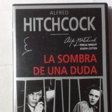 Cine: LA SOMBRA DE UNA DUDA- ALFRED HITCHCOCK- DVD. Lote 194969676