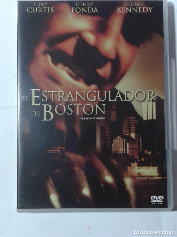 EL ESTRANGULADOR DE BOSTON- TONY CURTIS- HENRY FONDA- DVD (Cine - Películas - DVD)