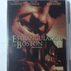 Cine: EL ESTRANGULADOR DE BOSTON- TONY CURTIS- HENRY FONDA- DVD. Lote 194969897