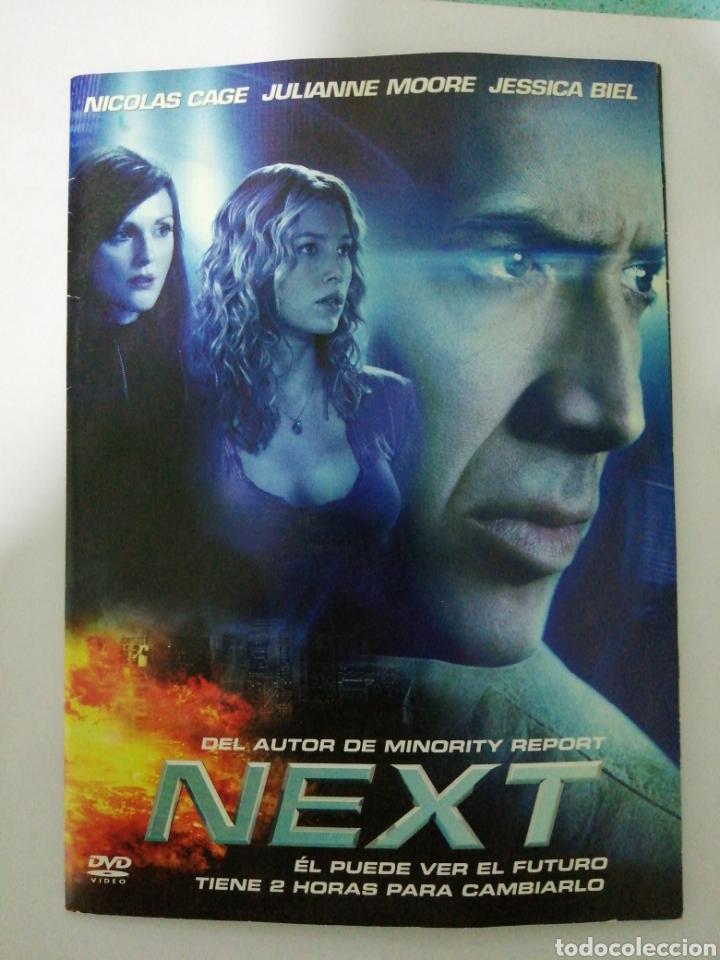DVD. NEXT. NICOLÁS CAGE. JULIANNE MOORE. JESSICA BIEL. (Cine - Películas - DVD)