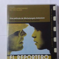 Cine: EL REPORTERO- MICHELANGELO ANTONIONI- DVD. Lote 194969967