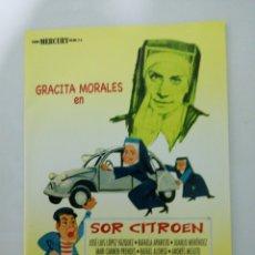 Cine: PELÍCULA DVD. SOR CITROEN GRACITA MORALES. Lote 194972550