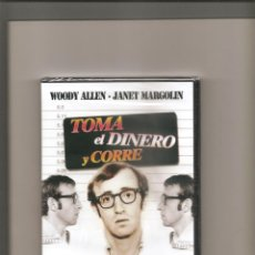 Cine: 1170. TOMA EL DINERO Y CORRE (PRECINTADA). Lote 194972582