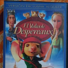 Cine: DVD EL VALIENTE DESPERAUX. Lote 194973957