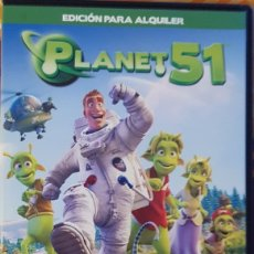 Cine: DVD PLANET 51. Lote 194974297