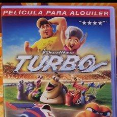 Cine: DVD TURBO. Lote 194975547