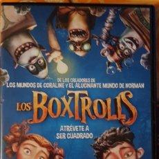Cine: DVD - LOS BOX TROLLS. Lote 194975593