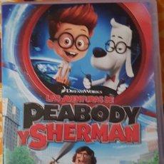 Cine: DVD PEABODY Y SHERMAN. Lote 194975936
