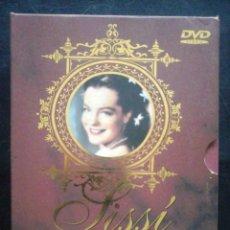 Cine: TODODVD: SISSÍ EDICIÓN DE ORO (ROMY SCHNEIDER) PACK DE LUJO 6 DVD. Lote 194978111