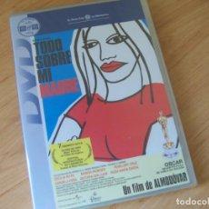 Cine: TODO SOBRE MI MADRE, DE PEDRO ALMODOVAR. 1999 PELICULA DVD NUEVA PRECINTADA. Lote 194980921