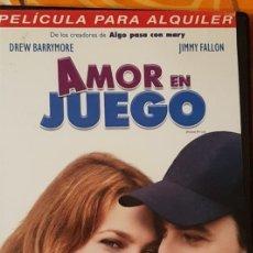 Cine: DVD AMOR EN JUEGO. Lote 194981442