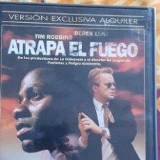Cine: DVD ATRAPA EL FUEGO. Lote 194983197