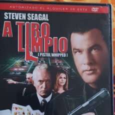 Cine: DVD A TIRO LIMPIO. Lote 194983291
