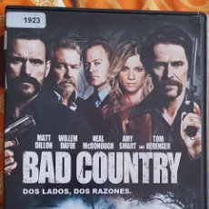 Cine: DVD BAD COUNTRY. Lote 194983703