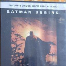 Cine: DVD BATMAN BEGINS. Lote 194983916