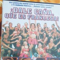 Cine: DVD DALE CAÑA QUE ES FRANCESA. Lote 194993053